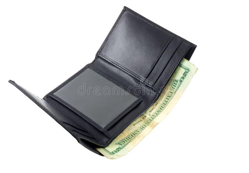 Dinero en carpeta fotos de archivo