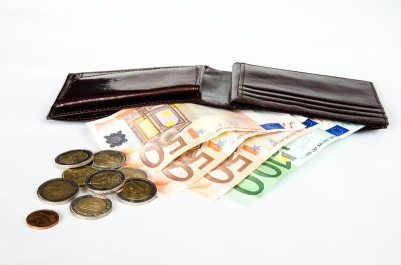Dinero en cartera imagen de archivo