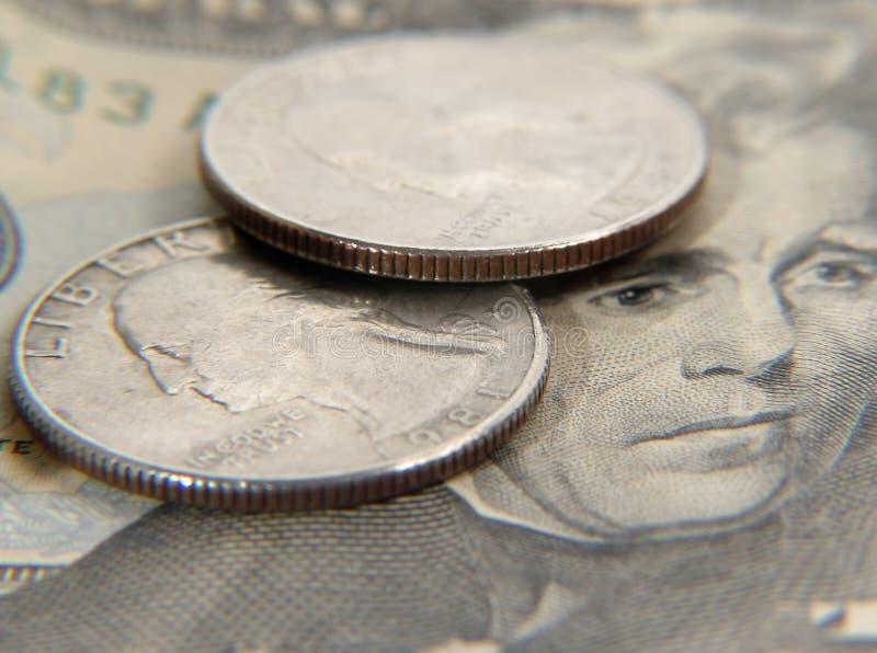 Dinero En Circulación 1 Foto de archivo