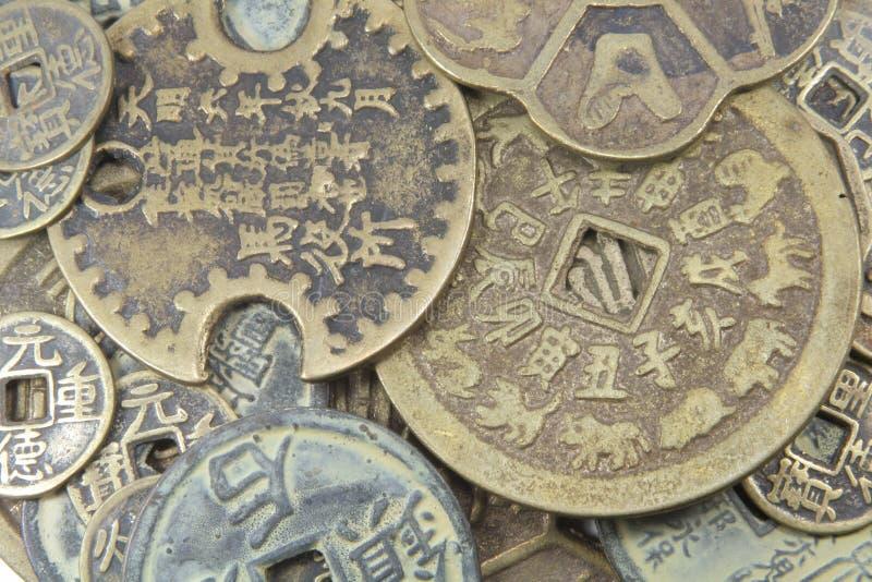 Dinero en circulación chino fotos de archivo