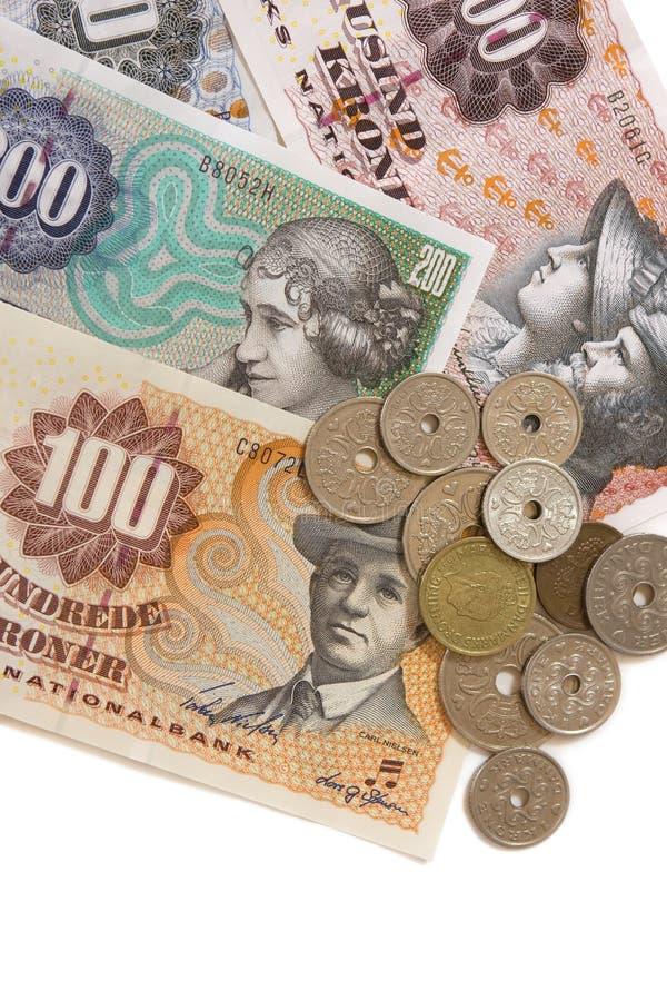 Dinero en circulación danés
