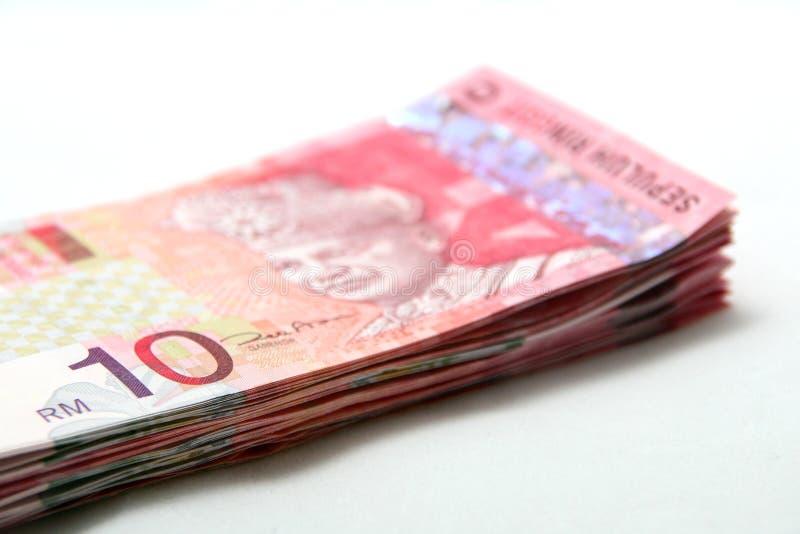 Dinero en circulación malasio fotos de archivo libres de regalías