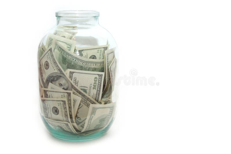 Dinero En La Batería Fotografía de archivo
