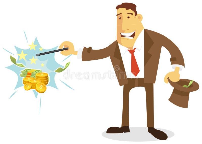 Dinero inmediato ilustración del vector
