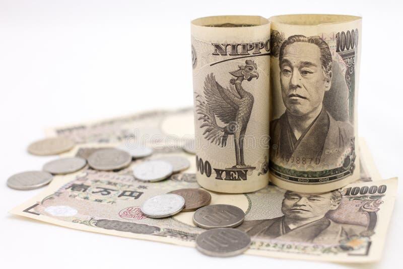 Dinero japonés fotos de archivo libres de regalías