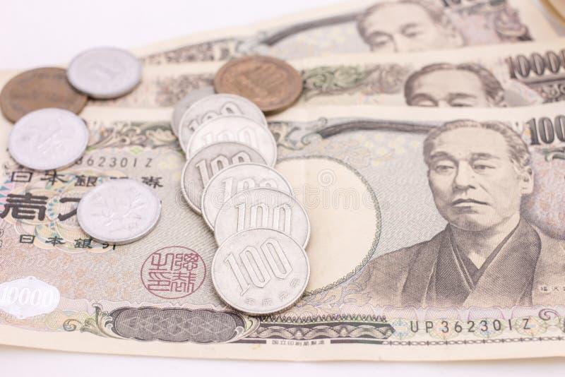 Dinero japonés fotografía de archivo libre de regalías