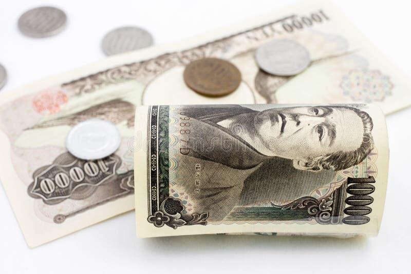 Dinero japonés imágenes de archivo libres de regalías