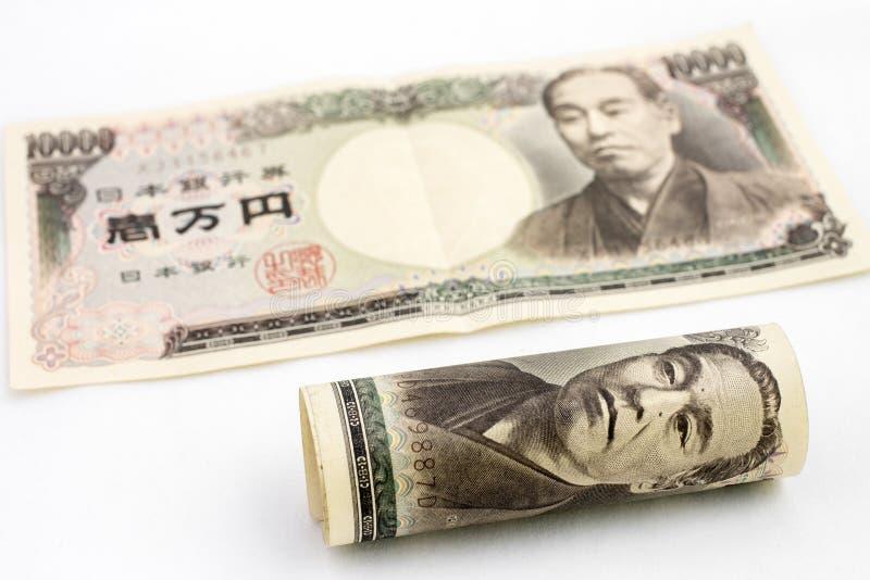 Dinero japonés imagenes de archivo