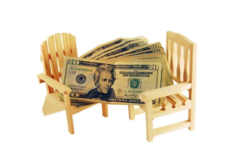 Dinero para el retiro imagen de archivo