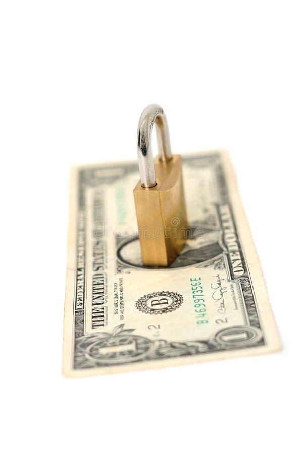 Dinero seguro foto de archivo libre de regalías