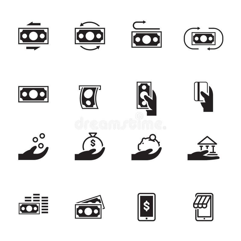 Dinero simple del icono, vector ilustración del vector