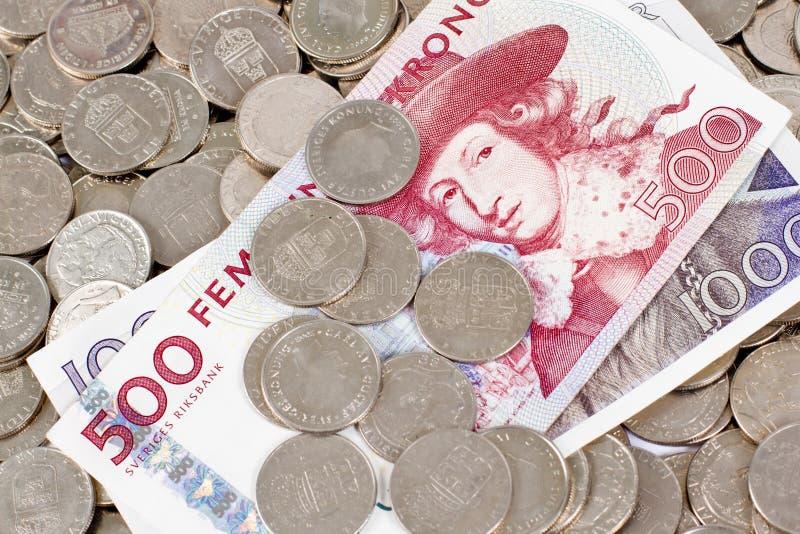 Dinero sueco foto de archivo