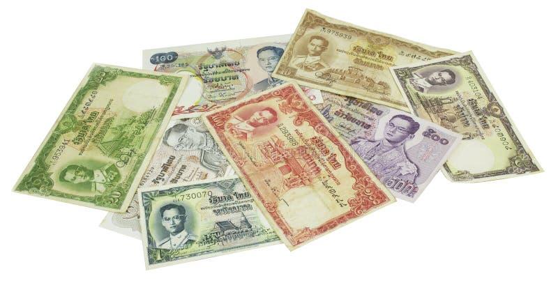 Dinero tailandés imagenes de archivo