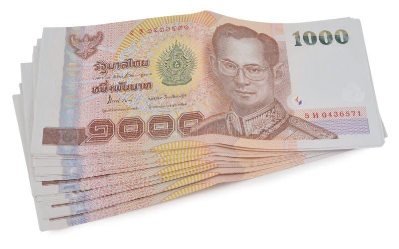 Dinero tailandés fotos de archivo