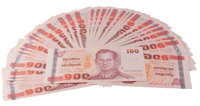 Dinero tailandés imágenes de archivo libres de regalías