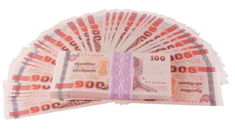 Dinero tailandés foto de archivo