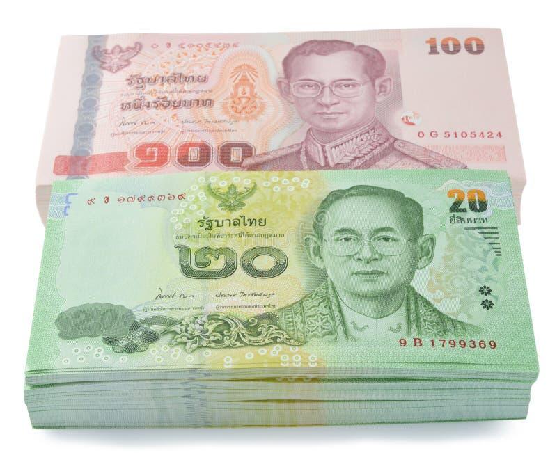 Dinero tailandés foto de archivo libre de regalías