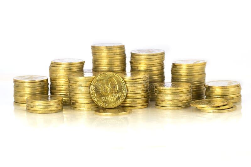 Dinero ucraniano imágenes de archivo libres de regalías