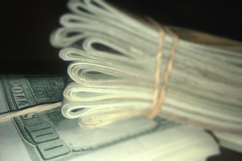 Dinero - USD fotografía de archivo