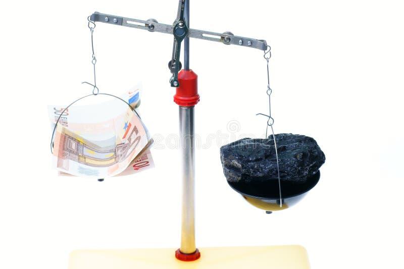 Download Dinero y carbón foto de archivo. Imagen de euro, juicio - 7279646
