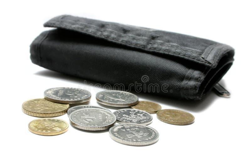 Dinero y carpeta fotos de archivo libres de regalías