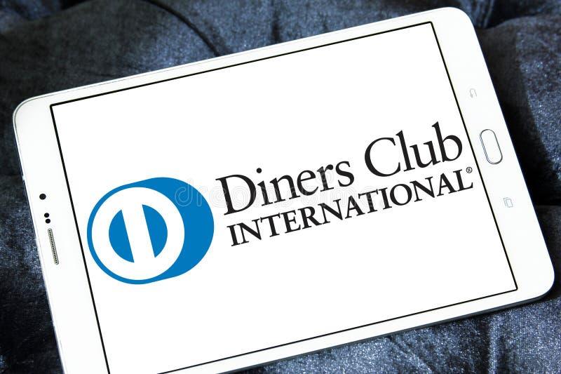 Diners Club International logo stock photography