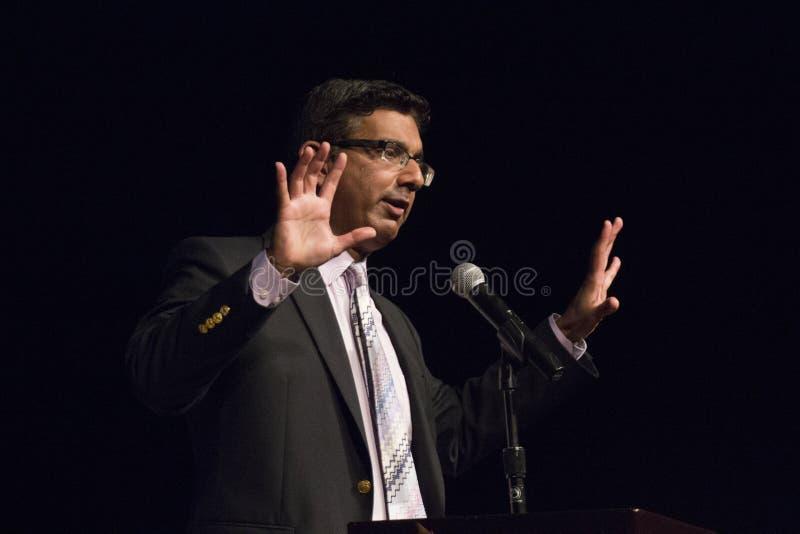 Dinesh D'Souza obraz stock