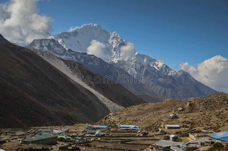 Dingboche - l'Himalaya fotografia stock libera da diritti