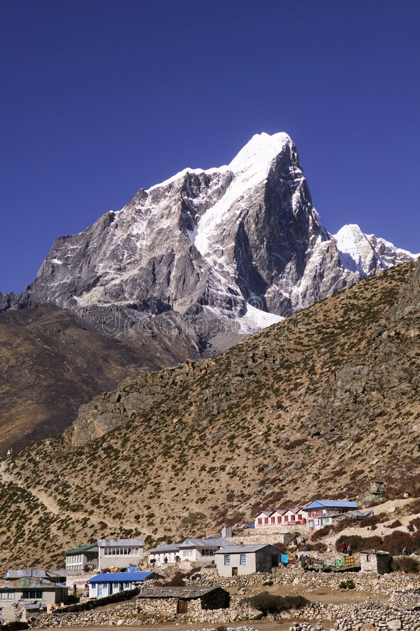 Free Dingboche Village Stock Photography - 3062932