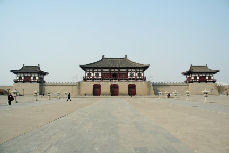 Dingding brama, Luoyang, Chiny obraz royalty free