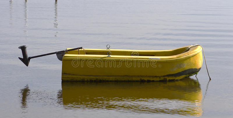 Dinghy Florida. Dinghy on central Florida River royalty free stock photography