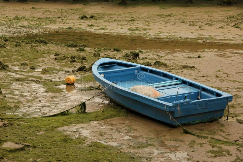 Dinghy. A Dinghy waiting for water in Hong Kong, China royalty free stock photo