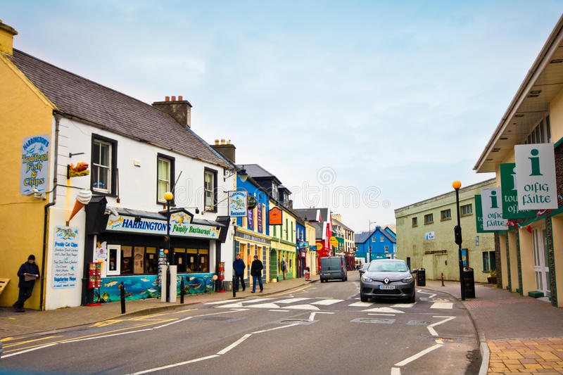 Dingle Irlanda fotografie stock libere da diritti