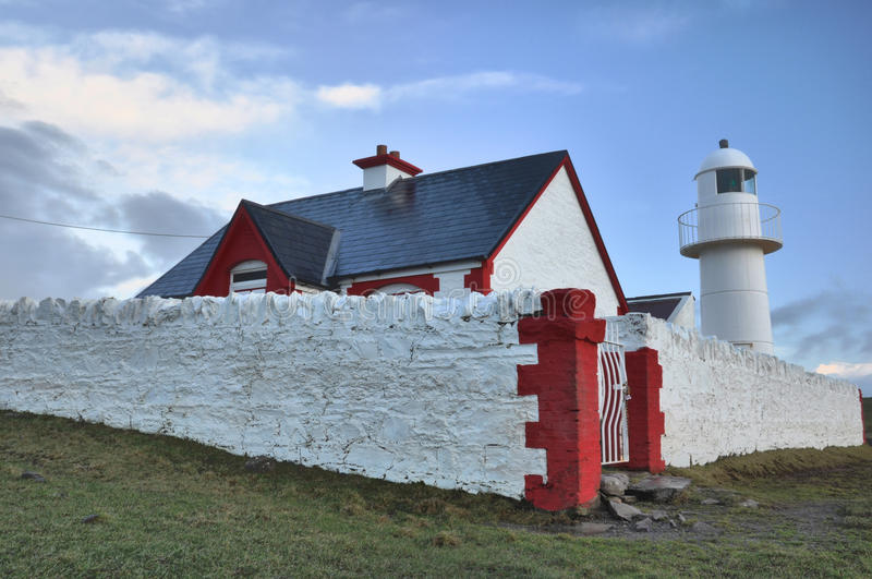 Download Dingle Lighthouse stock photo. Image of lighthouse, historic - 14046832