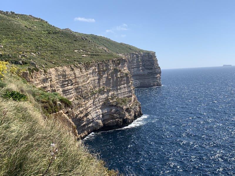 Dingli-Klippen in Malta stockfoto