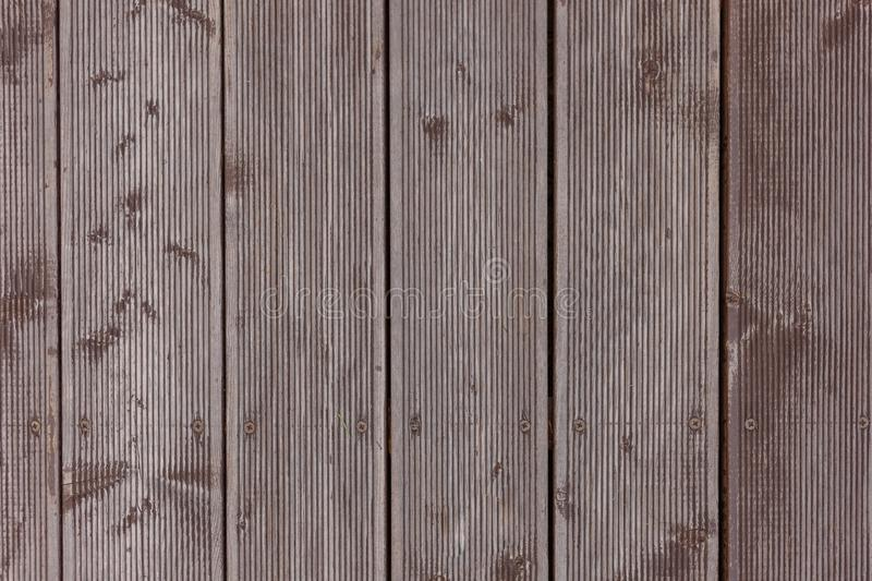 Dingy Grey Barn Wooden Wall Planking Vertical Texture. Old Solid Wood Slats Rustic Shabby Gray Background. Hardwood Dark. Weathered Vintage Surface royalty free stock images