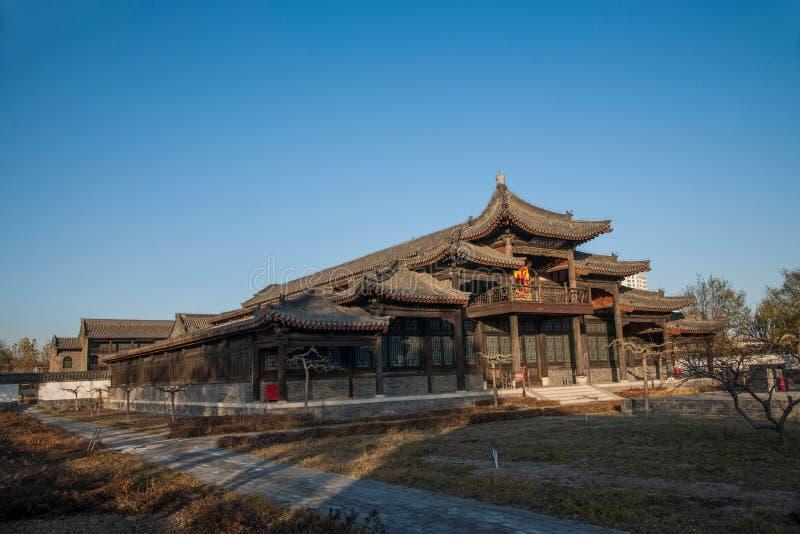 Dingzhou, prowincja hebei, gong Juan zdjęcia stock