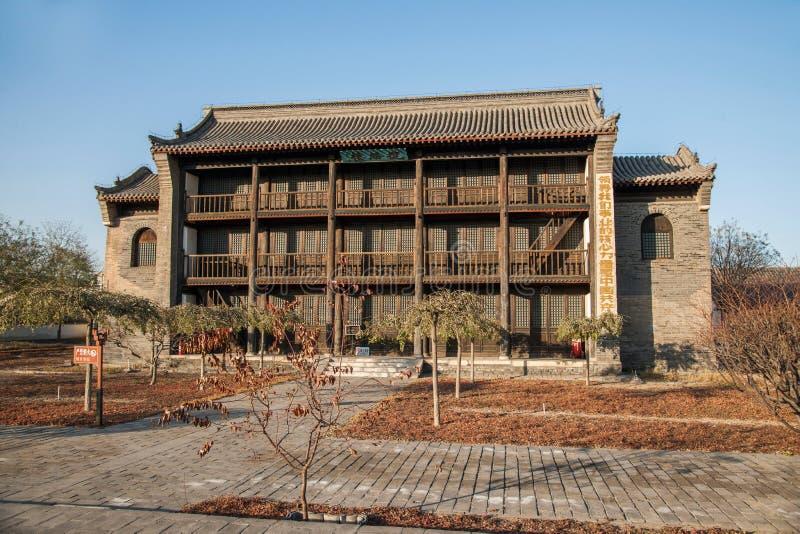 Dingzhou, prowincja hebei, gong Juan obrazy stock
