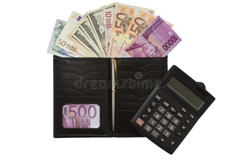 Download Dinheiro foto de stock. Imagem de contas, euro, carteira - 26522278