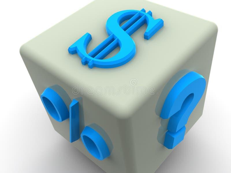 Dinheiro ilustração royalty free