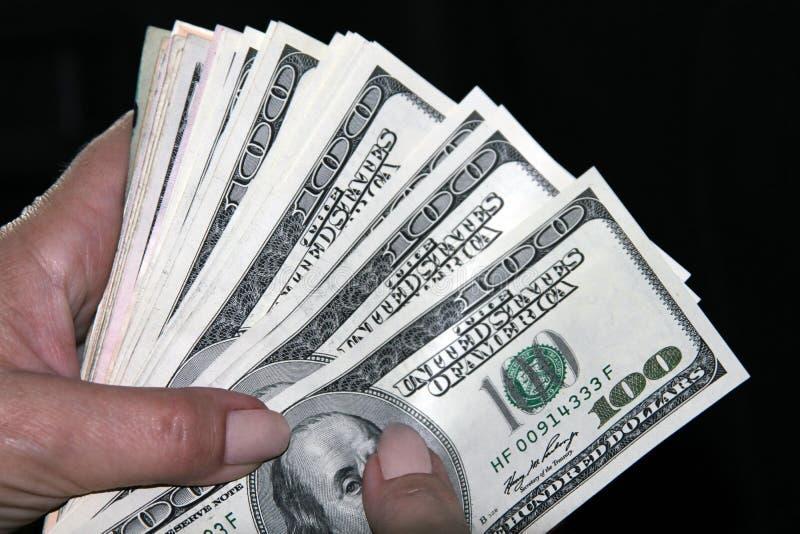 Dinheiro americano imagens de stock royalty free