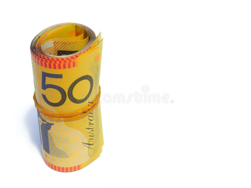 Dinheiro australiano fotografia de stock