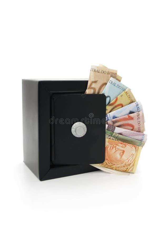Dinheiro brasileiro salvar fotografia de stock