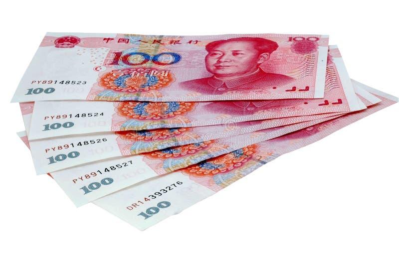 Dinheiro chinês imagem de stock