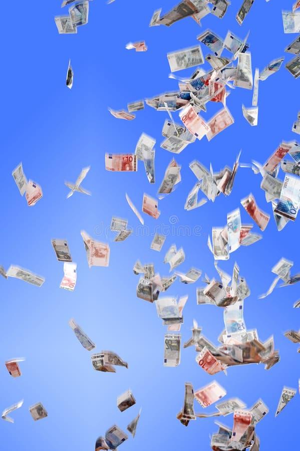 Dinheiro-chuva imagens de stock