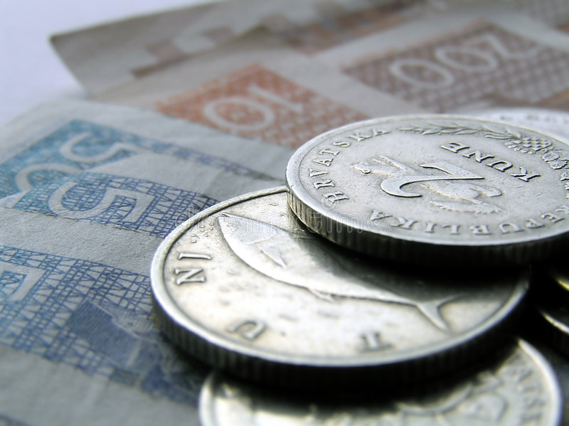 Dinheiro croata 10 imagens de stock