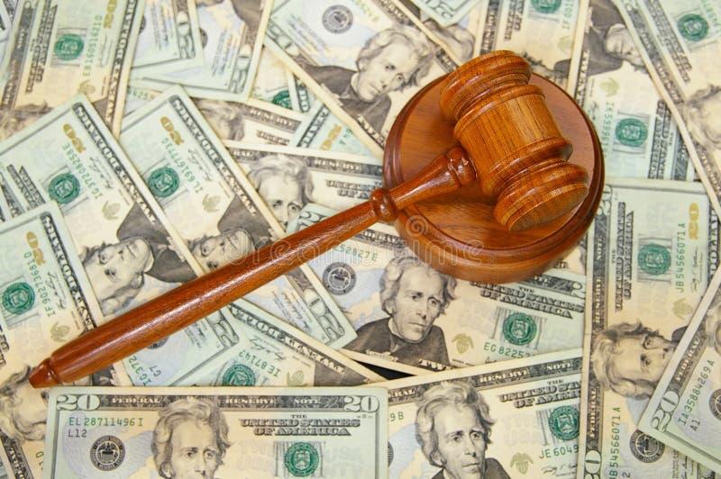 Dinheiro da lei foto de stock royalty free