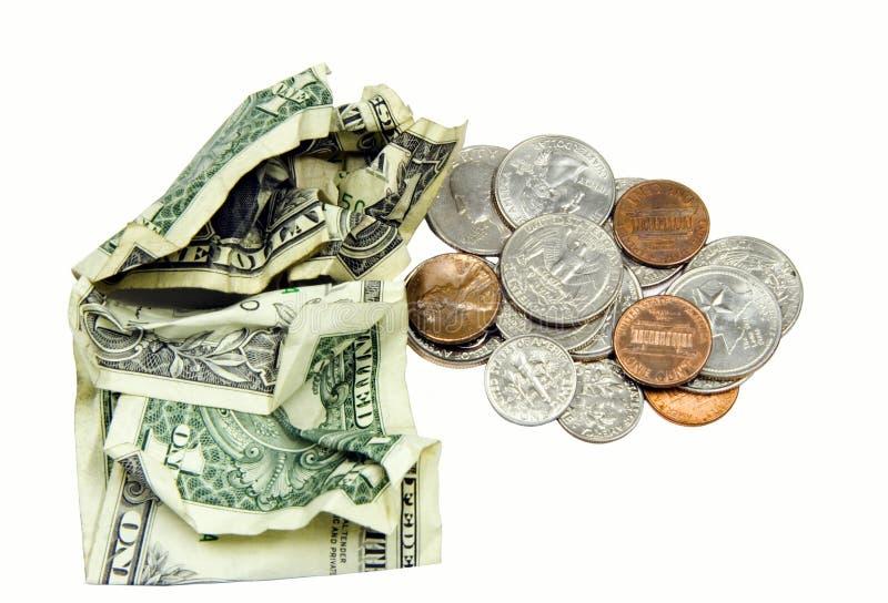 Dinheiro De Bolso. Imagens de Stock Royalty Free