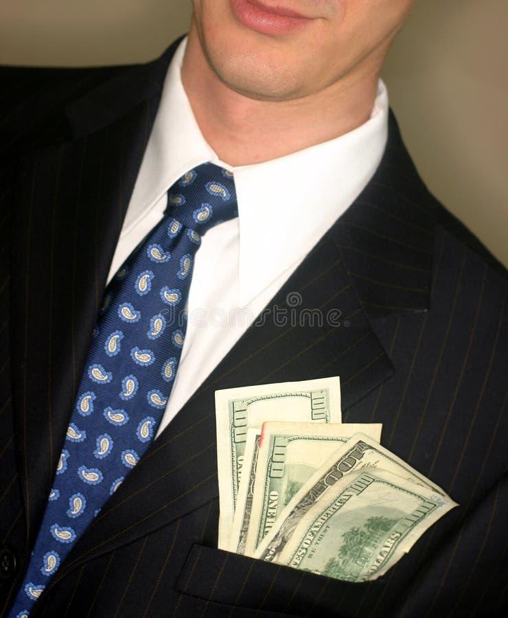 Dinheiro de bolso imagem de stock royalty free