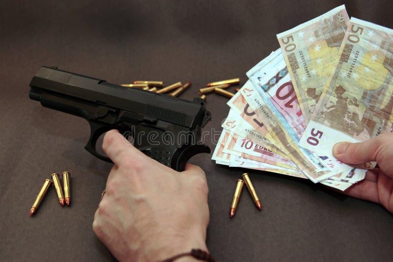 Dinheiro de droga 10 fotografia de stock